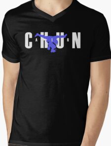Air Chun Mens V-Neck T-Shirt