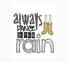 dance in the rain Kids Tee