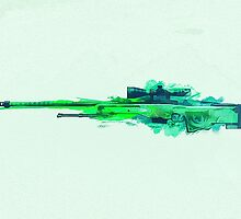 CS:GO Dragon Lore AWP Green by LexyLady