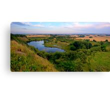 Gravel Pit Revisited Canvas Print