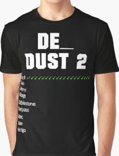 de_dust2 Vote | White Graphic T-Shirt