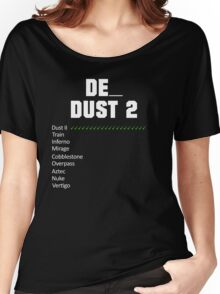 de_dust2 Vote | White Women's Relaxed Fit T-Shirt