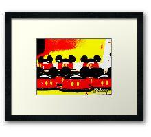 Pop Art Mickey Framed Print