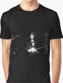 Twain & Tesla Graphic T-Shirt