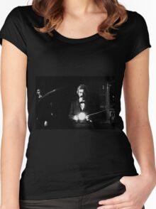Twain & Tesla Women's Fitted Scoop T-Shirt