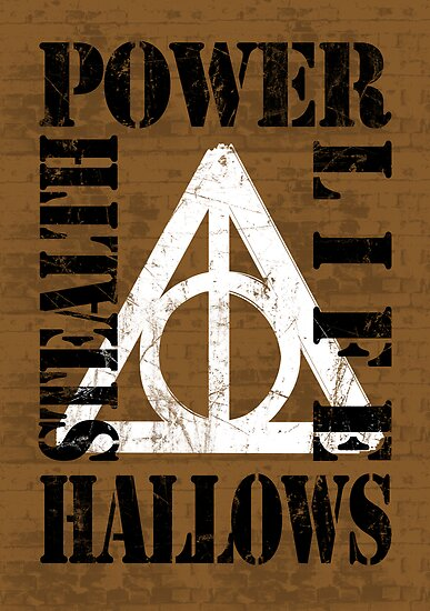 Deathly Hallows (P.L.S.H) BLACK / WHITE by Styl0