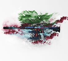 CS:GO M4A1-S Hyper Beast by LexyLady