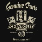 Chevrolet Genuine Parts Dark Colours 2 by No17Apparel