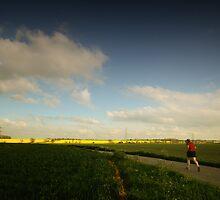 Running Towards the Light by Nigel Bangert