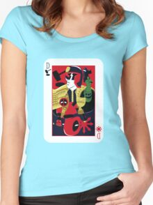 Dreddpool' Bipolar Complex Women's Fitted Scoop T-Shirt