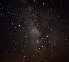 Milky Way from the North Rim (Grand Canyon) by Daniel Owens