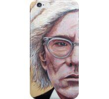 Mr. Warhol iPhone Case/Skin