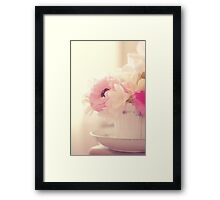 I Shut My Eyes... Framed Print