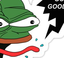 Sounds Good Feels Good Pepe Sticker