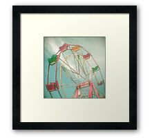 Big Wheel II Framed Print