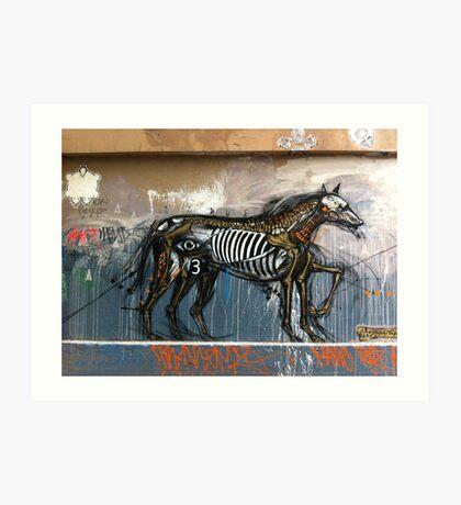 Graffiti, Hosier Lane, Melbourne Art Print