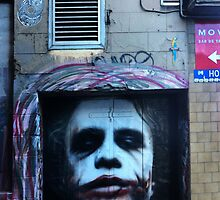 Heath Ledger as the Joker by Roz McQuillan