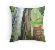 388 Apple Tree Throw Pillow