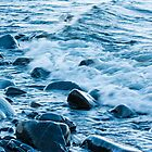 Rocks and Waves by April Koehler
