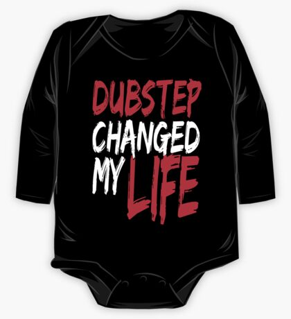 Dubstep Changed My life (red) One Piece - Long Sleeve