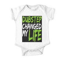 Dubstep Changed My life (black/neon green) One Piece - Short Sleeve