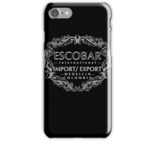 Escobar Import and Export White Glow iPhone Case/Skin