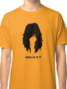 who is it 2 Classic T-Shirt