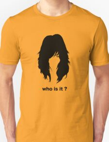 who is it 2 Unisex T-Shirt