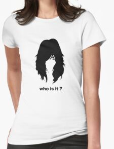 who is it 2 Womens Fitted T-Shirt