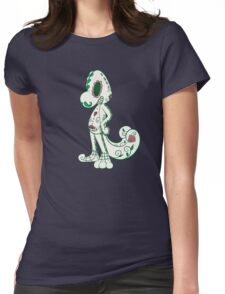 Treecko Pokemuerto | Pokemon & Day of The Dead Mashup Womens Fitted T-Shirt