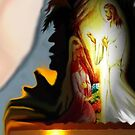 kneeling at Jesus Feet by BeckyJean