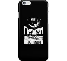The Moon  - Tarot Cards - Major Arcana iPhone Case/Skin