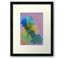 No Horizon Abstract Framed Print