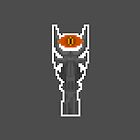 Pixel Barad_Dr Tower (Eye Of Sauron) - Lord Of The Rings by PixelBlock