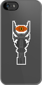Pixel Barad_Dûr Tower (Eye Of Sauron) - Lord Of The Rings by PixelBlock