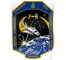 STS-126 Mission Logo Poster