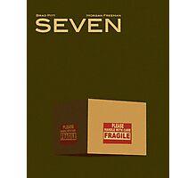 Seven/Se7en Photographic Print