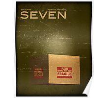 Seven/Se7en (Vintage) Poster