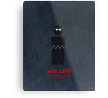 Sin City (Vintage) Metal Print