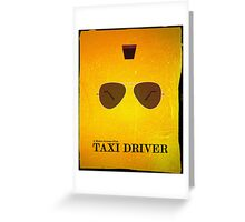 Taxi Driver (Vintage) Greeting Card