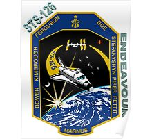 Endeavour STS-126 Mission Logo Poster