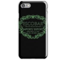 Escobar Import and Export Mint Glow iPhone Case/Skin
