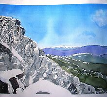 Mt Buffalo in Spring snow by taariqhassan