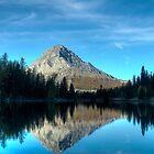 Commonwealth Peak at Dawn by Justin Atkins