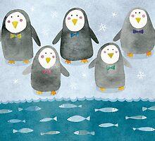 Penguins by taoart
