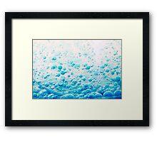 Bubbles 1 Framed Print