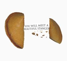 "Fortune Cookie (Compact) ""YOU WILL MEET A BEAUTIFUL STRANGER"" by FlyNebula"