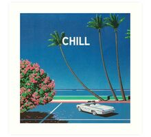 Chill Vibe Art Print