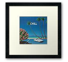 Chill Vibe Framed Print