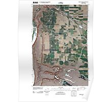 USGS Topo Map Washington State WA Babcock Ridge 20110425 TM Poster